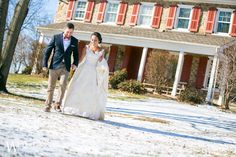 A Bucks County Winter Wedding at Joseph Ambler Inn and Nostalgia – Victoria and Pat
