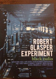 Robert Glasper Experiment Black Radio Promo Poster