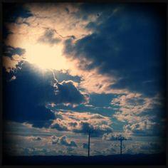 camino d nubes...