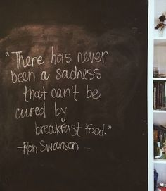 Wise words from Ron Swanson