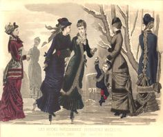 Edwardian Period | Late Victorian Era Clothing: Late Victorian Era Fashion Plate ...