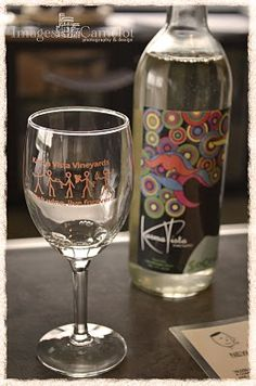 Good wine at Karma Vista winery, MI