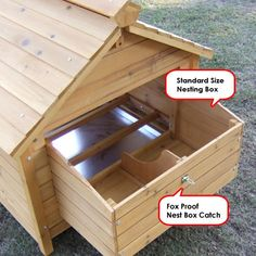 Simple Duck House | Easy Detailed Wood Duck House Plans | Animals to ...