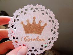 Resultado de imagen para letras decorativas em scrapn - tema princesa