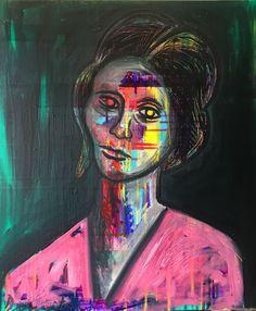 Online veilinghuis Catawiki: Dimitri Spijk - Portrait Jacqueline (Portret van Jacqueline)