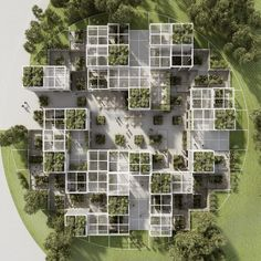 Discover recipes, home ideas, style inspiration and other ideas to try. Module Architecture, Social Housing Architecture, Urban Architecture, Concept Architecture, Residential Architecture, Sustainable Architecture, Contemporary Architecture, Master Arquitectura, Parque Linear