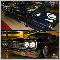 '64 Impala at #amanifest in#miamibeachfl . #carphotographybyjjgarcia #64chevyimpala #64impala #chevy #impala  #lowrider