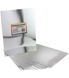 "Mirror Sheets 8-1/2""X11"" 10/Pkg-Silver ~ $6.59 at joannfabricandcraftstore.com"