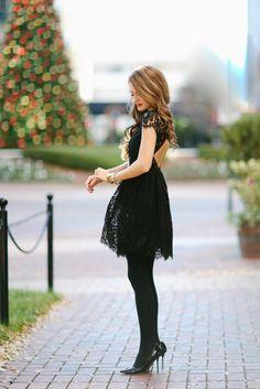 Little Black Party Dress...