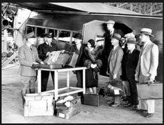 Alhambra Ca. 1940`s Airport Customs! lol