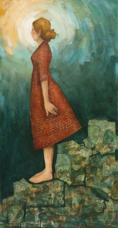 She stood with her burdens placed beneath her feet by Caitlin Connolly