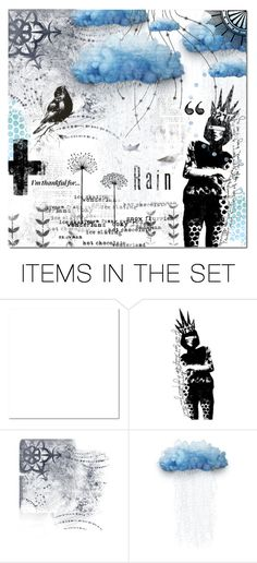 """""""Rain"""" by justlovedesign ❤ liked on Polyvore featuring art and imthankfulfor"""