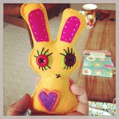 I love making crazy bunnies...