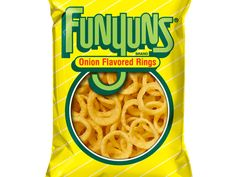 Onion flavourd Rings: For thos day you just done wantr onion rings. 80's Food