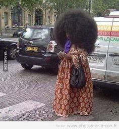 image drole cheveux