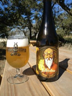 Buddha's Brew Sour Wheat Ale at Jester King Brewery at 13005 Fitzhugh Road.
