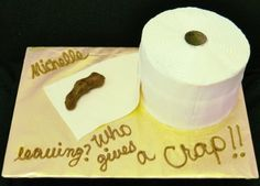 Going away party cake...This would be perfect for our party Sat! Haha!!
