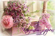 KÖSZÖNÖM KÉPESLAPOK - tanitoikincseim.lapunk.hu Floral Wreath, Wreaths, Plants, Home Decor, Floral Crown, Decoration Home, Door Wreaths, Room Decor, Deco Mesh Wreaths