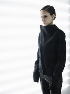 Sleeveless Jacket, Dark Fashion, Twilight, Turtle Neck, Sleeveless Coat