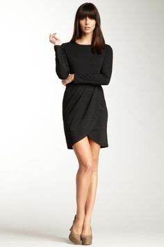 Emploi Chrystie Tulip Skirt Dress - love the shape of the bottom & neckline Look Fashion, Fashion Beauty, Fashion Outfits, Silhouette Mode, Look Chic, Mode Style, Dress Skirt, Tulip Skirt, Tulip Dress