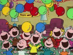Happy New Year, Peanuts gang!