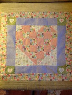 Block for charity quilt