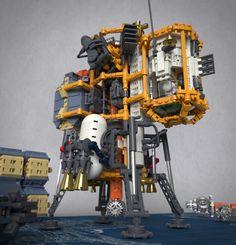 Asteroid Drilling Platform by Sunder_59 http://flic.kr/p/H6rcKP