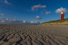 """Lighthouse """"Eierland"""" (53m), Texel (NL), via Flickr."""