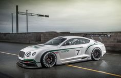 Bentley Continental GT3 , version de course entre autre  pour les 24 heures du Mans en 2013-14 dans sa catégorie...