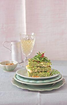 Recetas: Tortilla de espárragos verdes