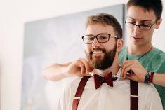 Hosenträger und Fliege :) Groom Bow Ties, Love Story, Wedding Day