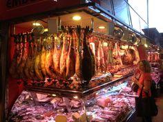 Barcelona food market - http://johnrieber.com/2015/01/18/the-worlds-most-famous-lizard-park-barcelonas-parc-guell/
