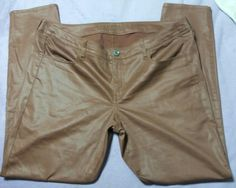 New American Eagle Outfitters Jegging Ankle Jean Legging Stretch Plus Size 16 Chocolate Brown Fall  Brown leather looking jeggings.  New without tags.  Never worn because wron...   https://nemb.ly/p/Eks57SBaW Happily published via Nembol