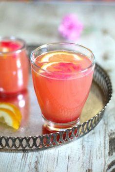 Aromatyczny napój róząno rabarbarowy #thermomix