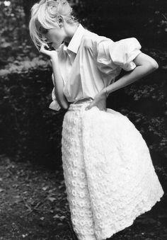 tulip skirt, shirt