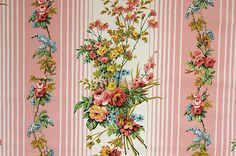 Awesome vintage curtain panel
