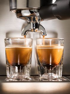 At the end of the night at Ava Gene's in #Portland, perk up with an expertly poured Stumptown espresso—founder Duane Sorenson is the restaurant's owner.