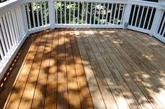 Cleaning and Staining a Deck with Between Naps on the Porch