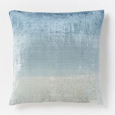 i saw this one in person recently & it's really great--better than in pics. Ombre Velvet Pillow Cover – Blue Lagoon