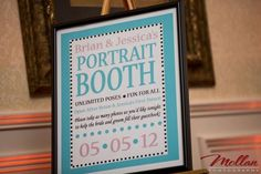 photo booth sign Found on Weddingbee.com Share your inspiration today!