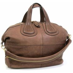 This authentic GIVENCHY Large Nightingale Tote Bag is finely crafted from soft brown leather. Find more at https://www.swayy.com.au/