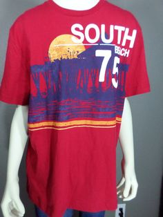 Old Navy South Beach 75 T-Shirt - L #OldNavy #GraphicTee