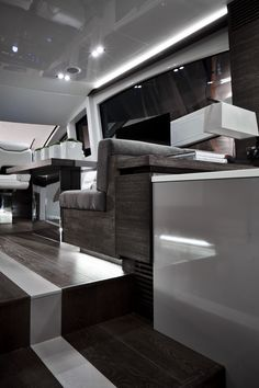 Pearl 65 Yacht, with interior design by Kelly Hoppen Styled with accessories from Kelly Hoppen London