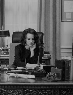 "dailynatalieportman: "" Natalie Portman as Jacqueline Kennedy in Jackie (2016) dir. Pablo Larraín. """