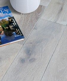 Fjord White Solid Wood Flooring