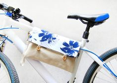Multiple-use handmade clutch. It can be your clutch, iPad case, Mac Book Air case, and bicycle top tube bag. This item goes well with almost