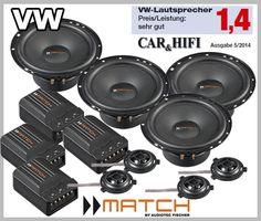 VW Touran 2003 - 2014 car speakers upgrade kit best in test in the German Autohifi magazine test winner boost your car stereo sound Volkswagen Touran, Vw Cars, German, Kit, Speakers, Doors, Deutsch, Puertas, German Language