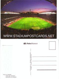 € 0,70 - code : SPA-020 - LA CORUNA Riazor - stadium postcard cartolina stadio carte stade estadio tarjeta postal