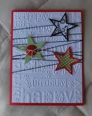 star handmade christmas card designs