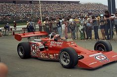 4X6 Photo #14  A.J. Foyt Indy car at Pocono 1973